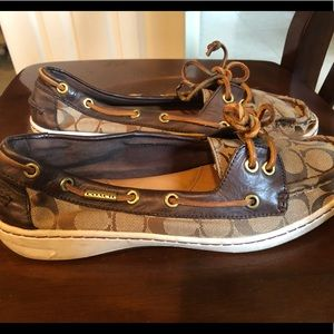 """Coach """"Richelle"""" Boat Shoes"""